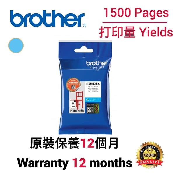 cartridge_world_Brother LC3619 XL C