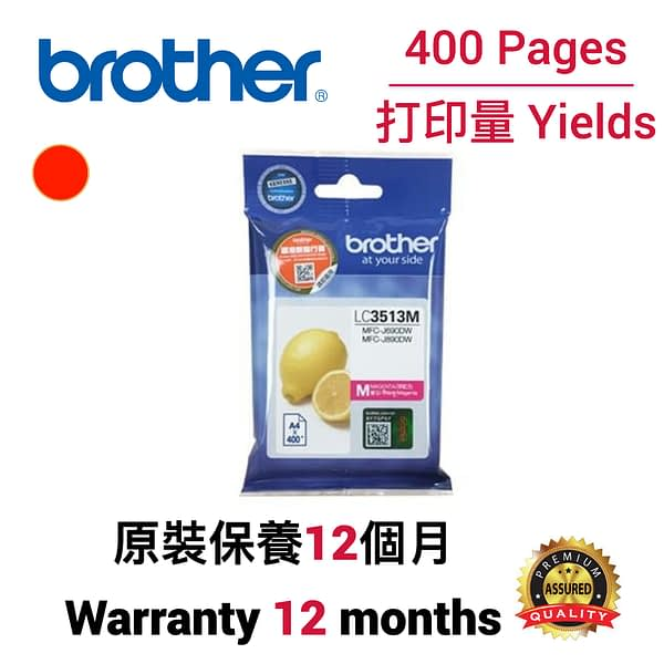cartridge_world_Brother LC3513 M