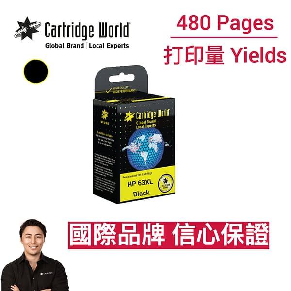 CW HP 63XL Black