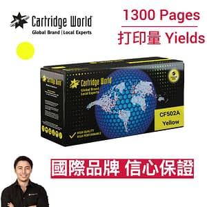 CW HP CF502A Yellow