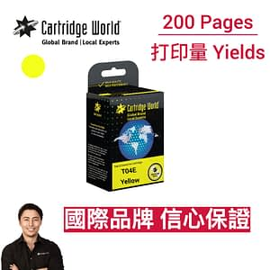 CW Epson T04E Yellow