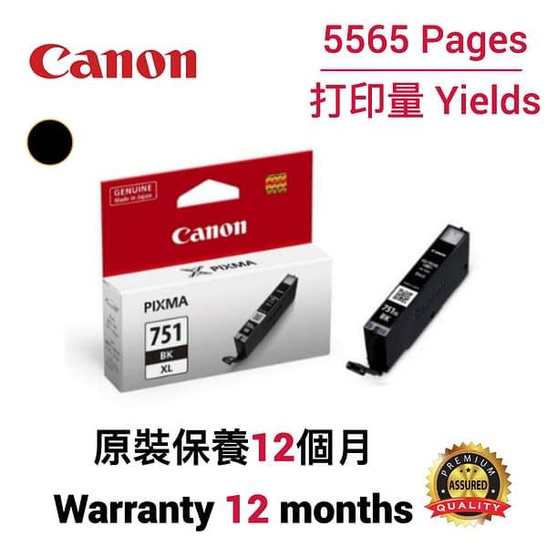 cartridge_world_Canon CLI751 XL BK
