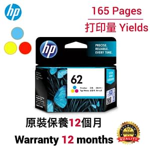 HP 62 CMY