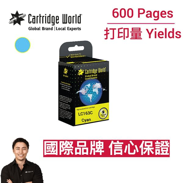 cartridge_world_CW Brother LC163C