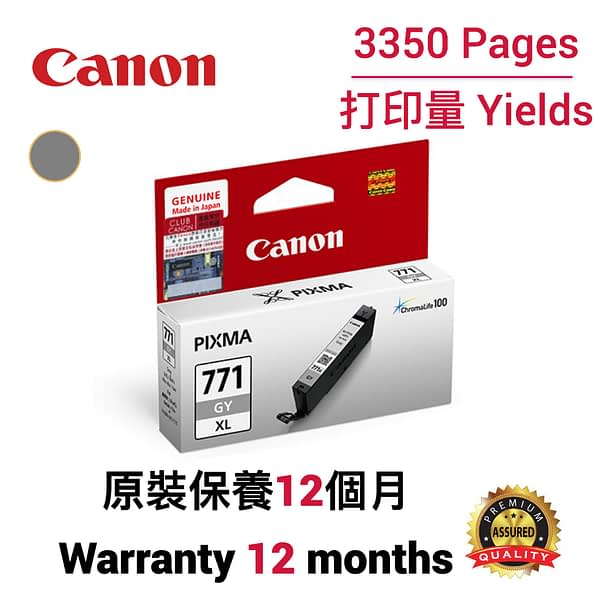 cartridge_world_Canon CLI771XL GY