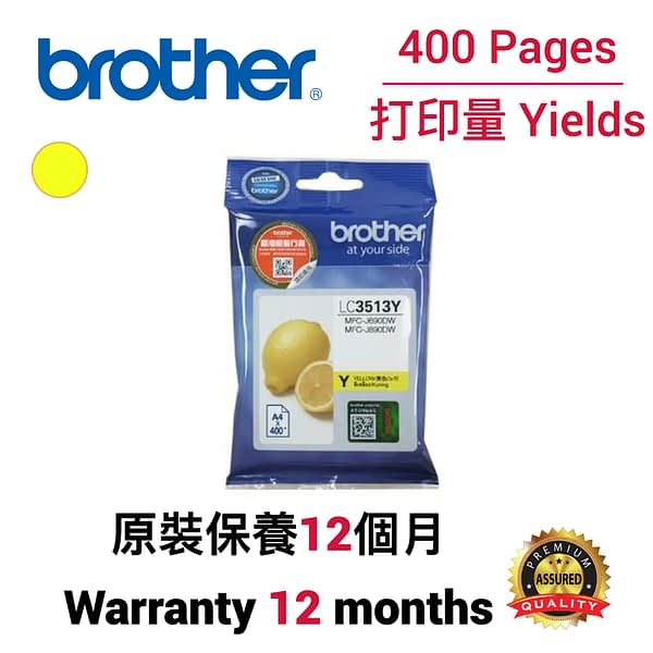 cartridge_world_Brother LC3513 Y