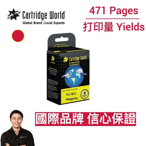 cartridge_world_Canon CLI 821 M