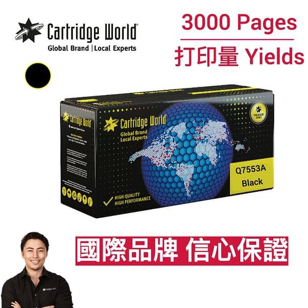 CW HP Q7553A Black