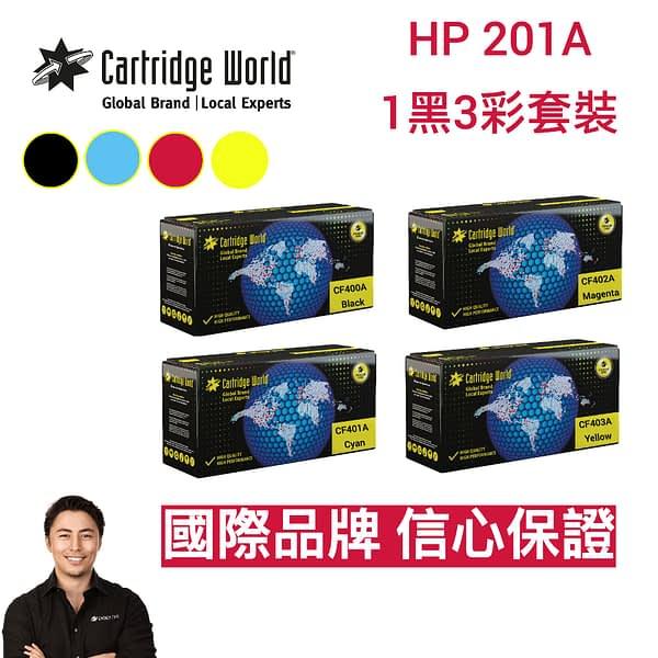HP 201A Bundle
