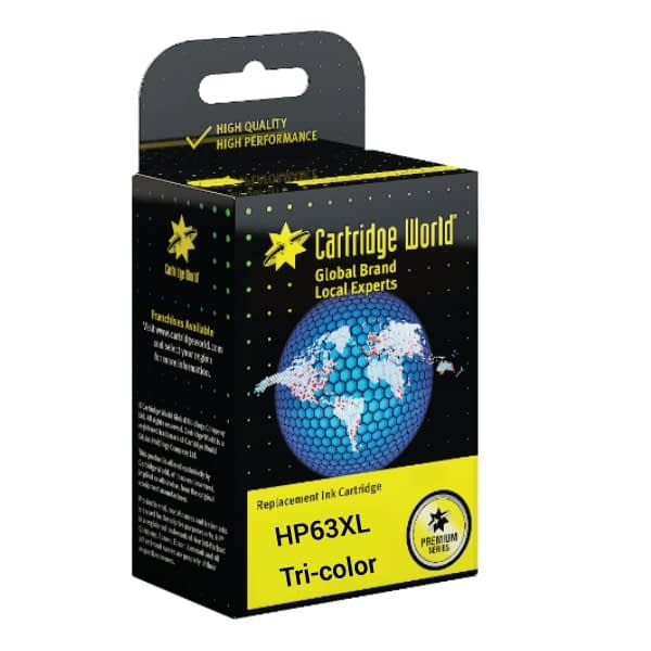 cartridge_world_CW HP63XL Tri color