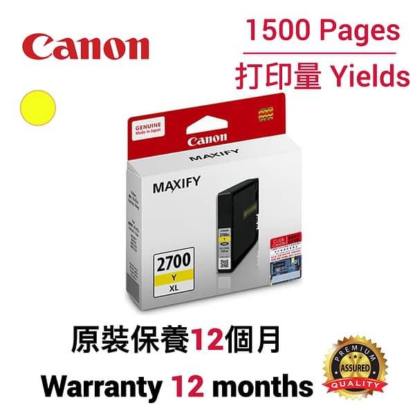 cartridge_world_Canon PGI 2700XL Y